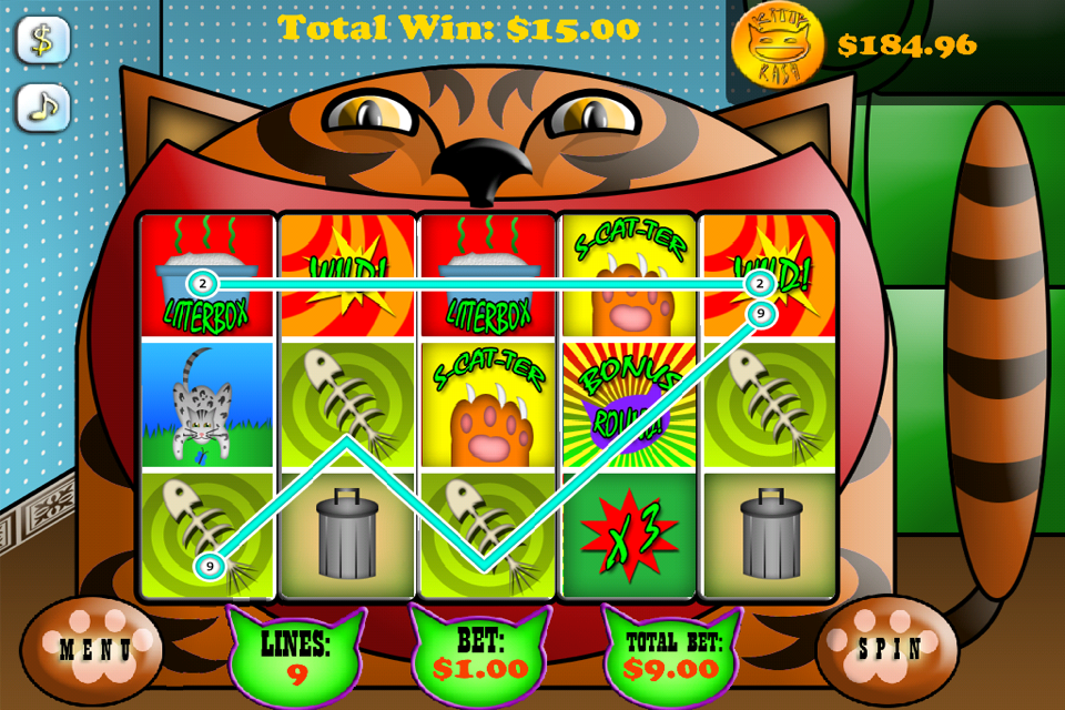 Screenshot Stinky Kitty Slots